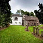 Innerpeffray Library sits beside Innerpeffray Chapel