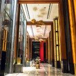 Very grand and imposing main lobby.