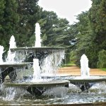 Fountain at the gardens