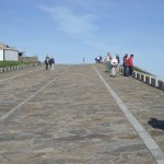 Paved walk to the top