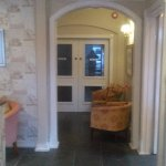 Our new reception area