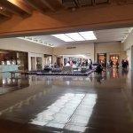 Wide hallways make for hassle-free walking