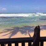 Feet up in Wijaya