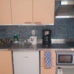 Kitchen area (no proper oven!)