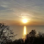 Sunrise at babbacombe downs