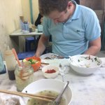 First meal in Hanoi - something to remember!