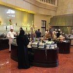 Breakfast buffet at The Atrium