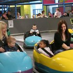 Indoor activity and adventure centre - dodgems for kids and parents