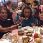 Enjoying Dim Sum with Friends