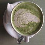 Organic Matcha Latte 💚