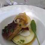 foie gras,pommes cru,citron confit