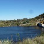 Il lago con la diga