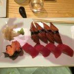 Eeel and tuna
