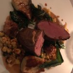 Veal tenderloin. Cooked perfectly & tasted delicious