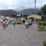 Baile típico BOMBA al llegar a Salinas