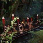 Mitai, Maori warriors arriving