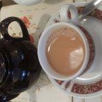 Lovely tea in Brighton