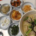 soup and banchan