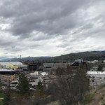 View of the stadium