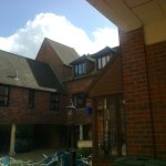 The Courtyard outside Tansy's Continental Cafe, Ringwood, Hampshire