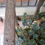 Great attention to details... even the hand railings are decorated with designs!