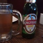 the average Kingfisher lager