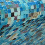 not so prefect mosaic pool when close up