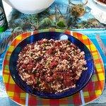 Fricessée de chatroux (le plus c'est la sauce chien ajoutée au plat)
