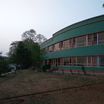 Newly renovated Maithon Lodge from outside