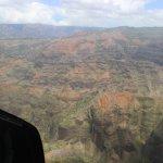 View of the Waimea Canyon.