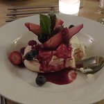 Fruit and Meringue desert!