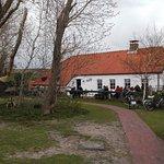 Terrasse vorm Café