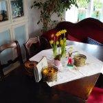 Wohnzimmer im Café