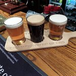 Free guest ales to try from card in room