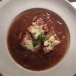 Homemade French Onion Soup.