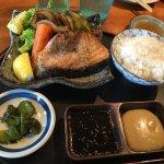 Salmon Teppan Grill
