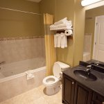 Jetted Tub and Bathroom