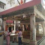 Shitla Mata temple inside Durgiana temple complex