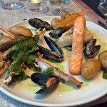 Lovely fish platter