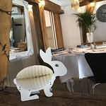 Resturant is all ready for the Easter celebrations.