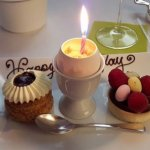 Easter touch with the creme brulee