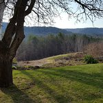 View from the inn--beautiful Vermont!