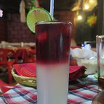 Rose Lemon cocktail.