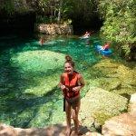 Annalie at Cenote #3