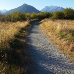 gravel track on lagoon walk