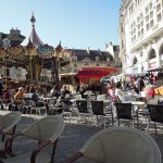 The Carousel at Place Francois Rude