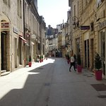 One of the medieval streets of Old Dijon