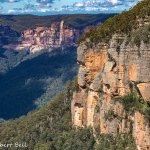 Escarpment at Govetts Leap