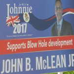 Vote for Johnnie: He supports Blow Hole development!