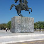 Monument of Alexander The Great Foto